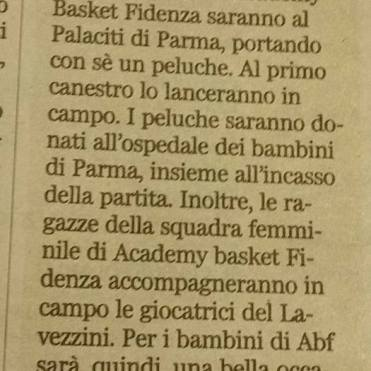 Gazzetta di Parma, 6 dicembre 2015