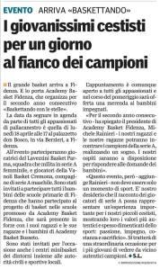 Gazzetta di Parma, 3 aprile 2016
