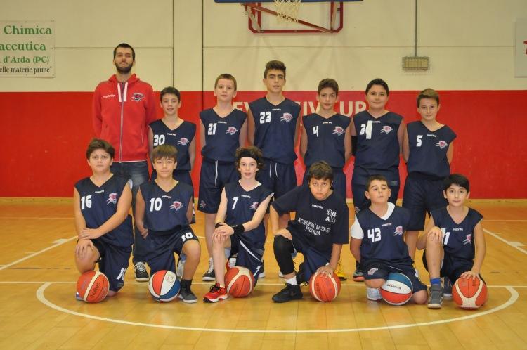 Academy Basket Fidenza, Under13